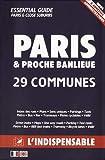 Atlas routiers - Modèle Police Nationale - Plan de Paris par arrondissements - Plan des communes limitrophes