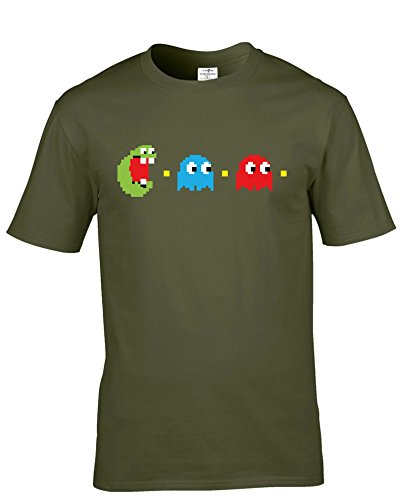 Ghost Busters Pacman Adults Premium T-shirt - S to XXL