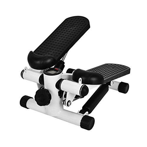OLAS Mini Twister Stepper Up-Down-Stepper Drehstepper Sidestepper mit Multifunktions-Display, Hometrainer Widerstand einstellbar