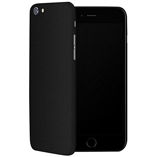 IDTB SKINS Aufkleber Skin Sticker Folie (Nicht Handy Cover), Smartphone Wrapping Ultra Dünn und widerstandsfähig Fingerabdrücke Fall iPhone 6 schwarz