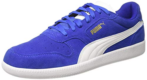 Puma Unisex-Erwachsene Icra Trainer SD Sneakers, Blau (Surf The Web-Puma White-Puma Team Gold) , 41 EU Sohle Low Top Schuhe