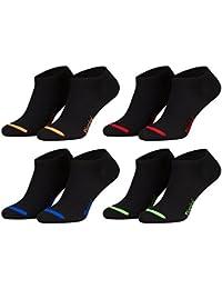 Piarini Calcetines cortos unisex - Varios colores modernos y negro - También en tallas grandes
