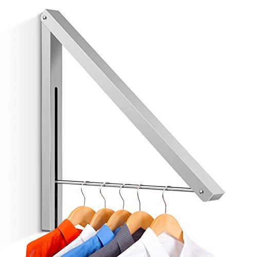 INTEY Kleiderhaken Klapphaken Wandhaken Geeignet für Wohnzimmer, Bad, Schlafzimmer, Büro (1)