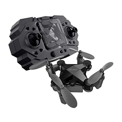 holitie HELIWAY 901HS Drohne Fernbedienung Flugzeug mit 120°Weitwinkel Kamera Live Übertragung , Faltbarer Arm Quadrocopter, App Steuerung,Headless Modus,Pocket RC Drohne für Anfänger