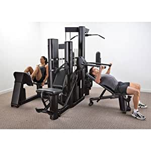 Vectra VX48 Multi Gym (Black Frame/Black Upholstery)