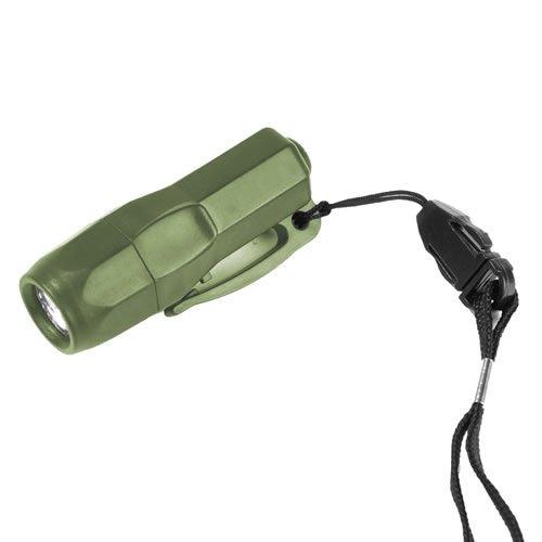 Preisvergleich Produktbild G8DS® Mini Rescue Lampe 3 LED -OLIV- Camping Outdoor Survival Taschenlampe