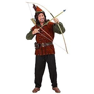 WIDMANN Sancto - Disfraz de robin medieval para mujer, talla L (73943)