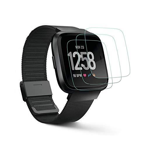 [3 Pack] Protector de Pantalla para Fitbit Versa 2