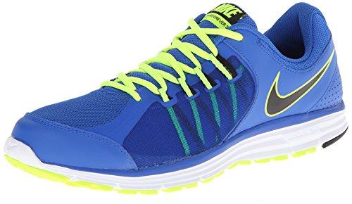 Nike Lunar Forever 3 631628 Herren Laufschuhe Blau / Schwarz / Weiß / Grün (Hyper Cobalt / Black-White-Volt)
