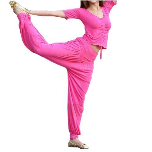 GOGO Team Pantalon de yoga/fitness pour femme Noir - Noir
