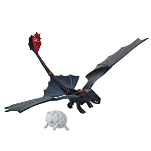 Dragons – Krokmou, Furie Nocturne – Catapulte – Figurine Action Dragon (Import Royaume-Uni)