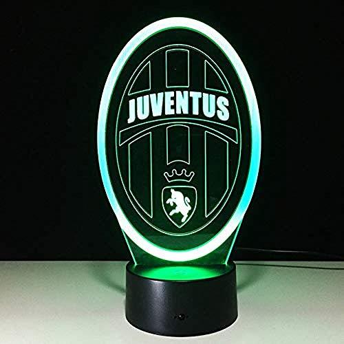 ns Nachtlampe Schlafzimmer Usb Touch Kinder Kinder Geschenk Team Logo Led Nachtlichter American Football ()
