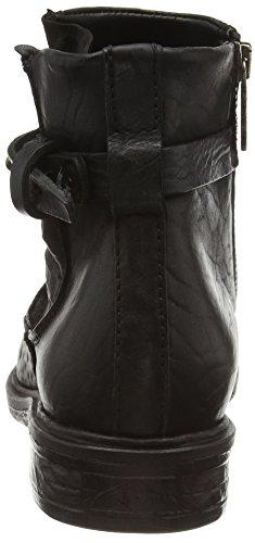 A.S.98  695204-010, Bottes Classics courtes, doublure froide femmes Noir - Noir