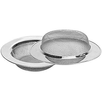 64mm YOFASEN Filtres /à /évier INOX 64mm 70mm 78mm Cuisine Salle de Bain Filtres /à /Évier en Acier Inoxydable Style 01 diam/ètre