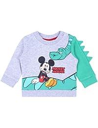 Sudadera Gris-Verde Mickey Mouse Disney