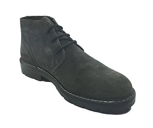 Imac , Chaussures de ville à lacets pour homme Gris