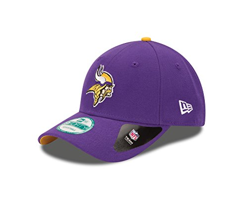 New Era Herren Baseball Cap The League 9Forty Minnesota Vikings Offical Team Colour, , Gr. One size, Violett (Purple) (Era Baseball-mütze New)