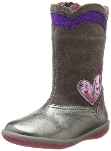 ada Mädchen 171924 Stiefel, Silber (Cromo Y Humo), 33 EU (Silber-kinder Stiefel)