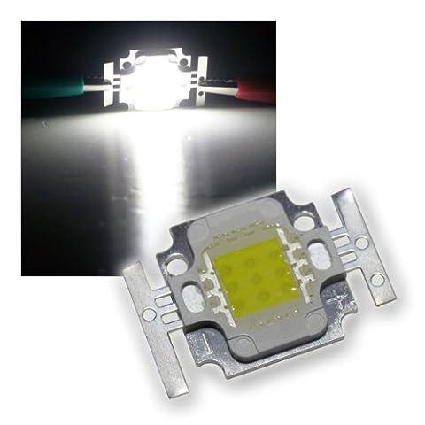 3x LED Chip 10W Highpower kalt-weiß SQUARE