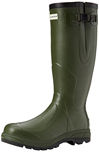 Hunter Men's Balmoral Classic Wellies Dark Olive W23600 9 UK
