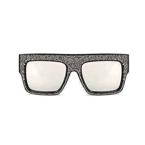 GFF Bling Diamond Sonnenbrillen Männer Frauen UV400 Oversized Square Glasses Fashion 45602