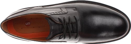 Clarks Un Marche Oxford Black Leather
