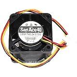 San ace404cm 109p0412K319312V 0.55A 3fils Ventilateur, Sanyo 40* * * * * * * * * * * * * * * * 40mm Ventilateur de refroidissement