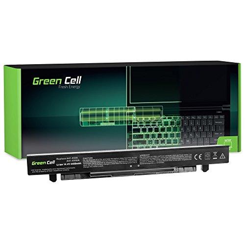 Green Cell® Extended Serie A41-X550A Laptop Akku für Asus X550 X550C X550CA X550CC X550CL X550E X550L X550LN X550V X550VB X550VC X550VL (8 Zellen 4400mAh 14.4V Schwarz)