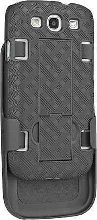 ooem Shell Holster Combo für at & T, Verizon, T-Mobile, US Cellular, Sprint Samsung Galaxy S3 (Samsung Galaxy 3 Handy Tmobile)