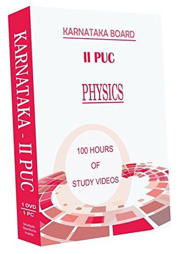 AVNS INDIA Karnataka II Year PUC - Physics Full Syllabus Teaching Video (DVD)