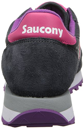 Saucony Jazz Original, Scarpe  Low-Top Donna Multicolore (Carbón / Rosa)