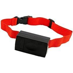 EOZY Collar Antiladridos para Perros Mascotas Ajustable Control Sonido Perímetro De Collar 20-53cm