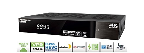Formuler S Turbo Android 4k Ultra HD Sat Receiver IPTV Player mit 150Mbit WIFI NA-Digital