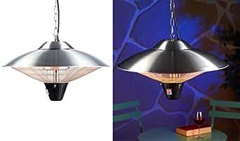 Semptec Urban Survival Technology Heizpilz: IR-Außen-Heizstrahler für Deckenmontage IRW-2110, 2.100 Watt, IPX4 (Heizlampe)