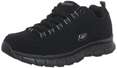 Skechers  Flex Fit High Demand Trainers Womens  Black Schwarz (BBK) Size: 2.5 (35 EU)