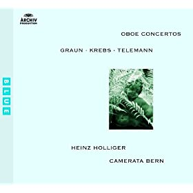 Krebs: Concerto in B minor for Harpsichord, Oboe, Strings and Continuo - 1. Moderato