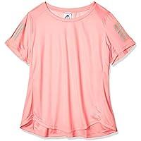 adidas Own The Run tee Camiseta de Manga Corta, Mujer, Glory Pink, 3X
