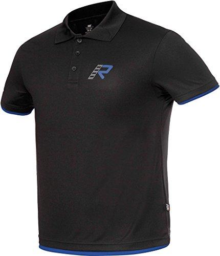 Funzione Rukka Luca Polo Shirt in Nero