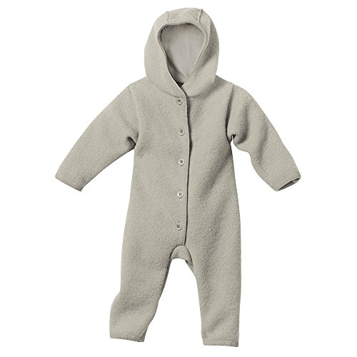 Disana 36110XX - Walk-Overall Wolle grau, Size / Größe:86/92 (1-2 Jahre)