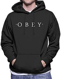 Obey Inspired Mens Hooded Sweatshirt