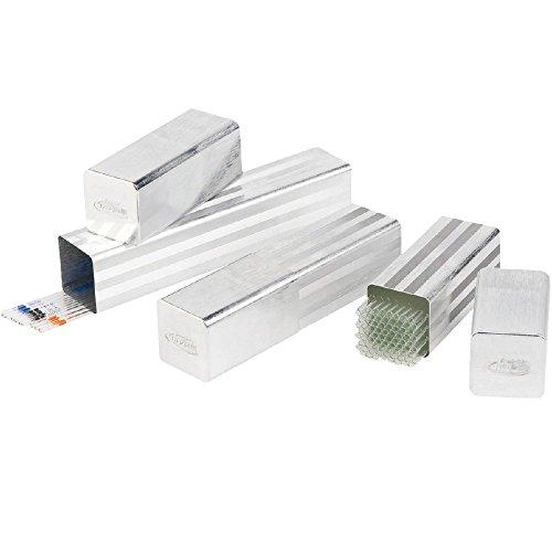 neoLab 2-2096 Aluminium-Pipettenbüchse 65 mm x 65 mm, 320/470 mm lang