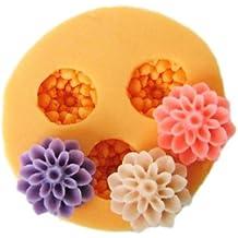 Molde de Repostería en Silicona para Hacer Flores de Fondant y Pasta de Goma - 3