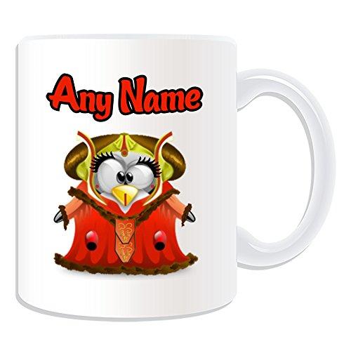 Personalisiertes Geschenk–Königin Padmé Amidala Tasse (Pinguin Film Charakter -