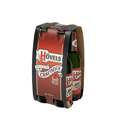Hövels Craftbock 4x 0,33l MEHRWEG-Flaschen im Träger