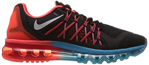 Nike Air Max 2015, Running Entrainement Homme Black/White-Brght Crmsn-Bl Lgn