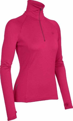 Icebreaker tech top t-shirt bF260 Rose - Rouge