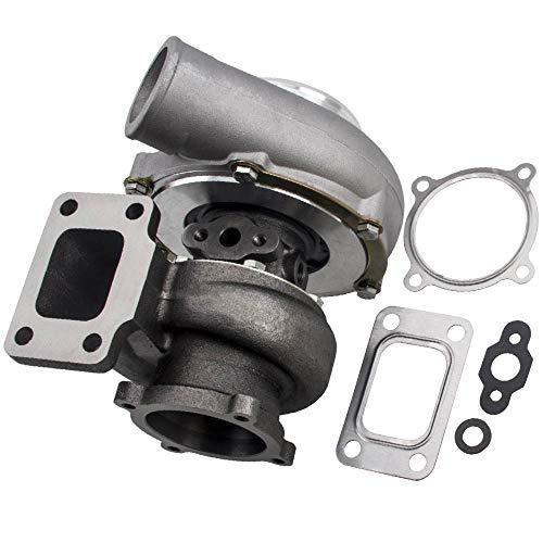 maXpeedingrods GT3582 Universal Turbolader Abgasturbolader GT30 GT3582 T3T4 T04E .70 A/R anti-surge .63 3.0L-6.0L Motor
