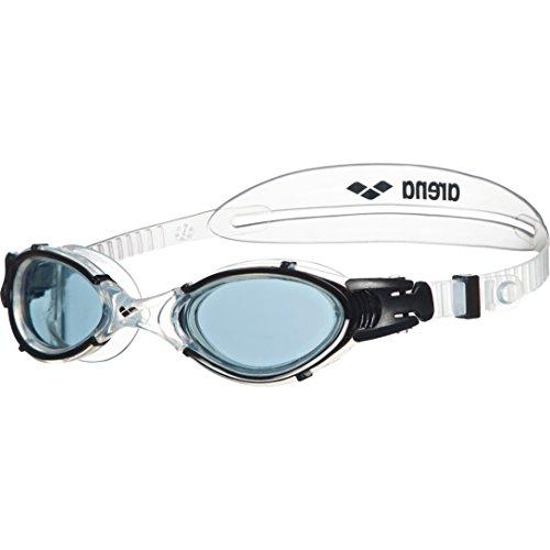 arena Unisex Training Freizeit Schwimmbrille Nimesis Crystal Medium (UV-Schutz, Anti-Fog...