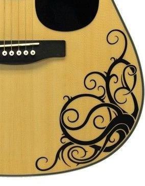 Vinilo adhesivo para MacBook de Vine - de guitarra acústica