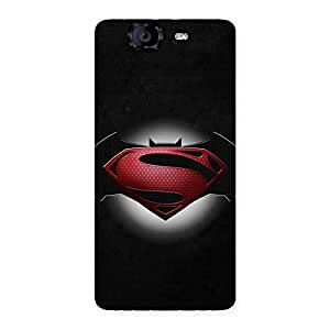 Stylish Knight Rivals Back Case Cover for Canvas Knight A350